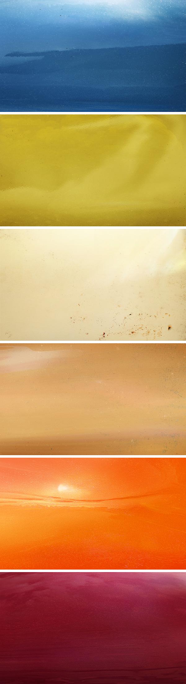 6 retro car paint textures