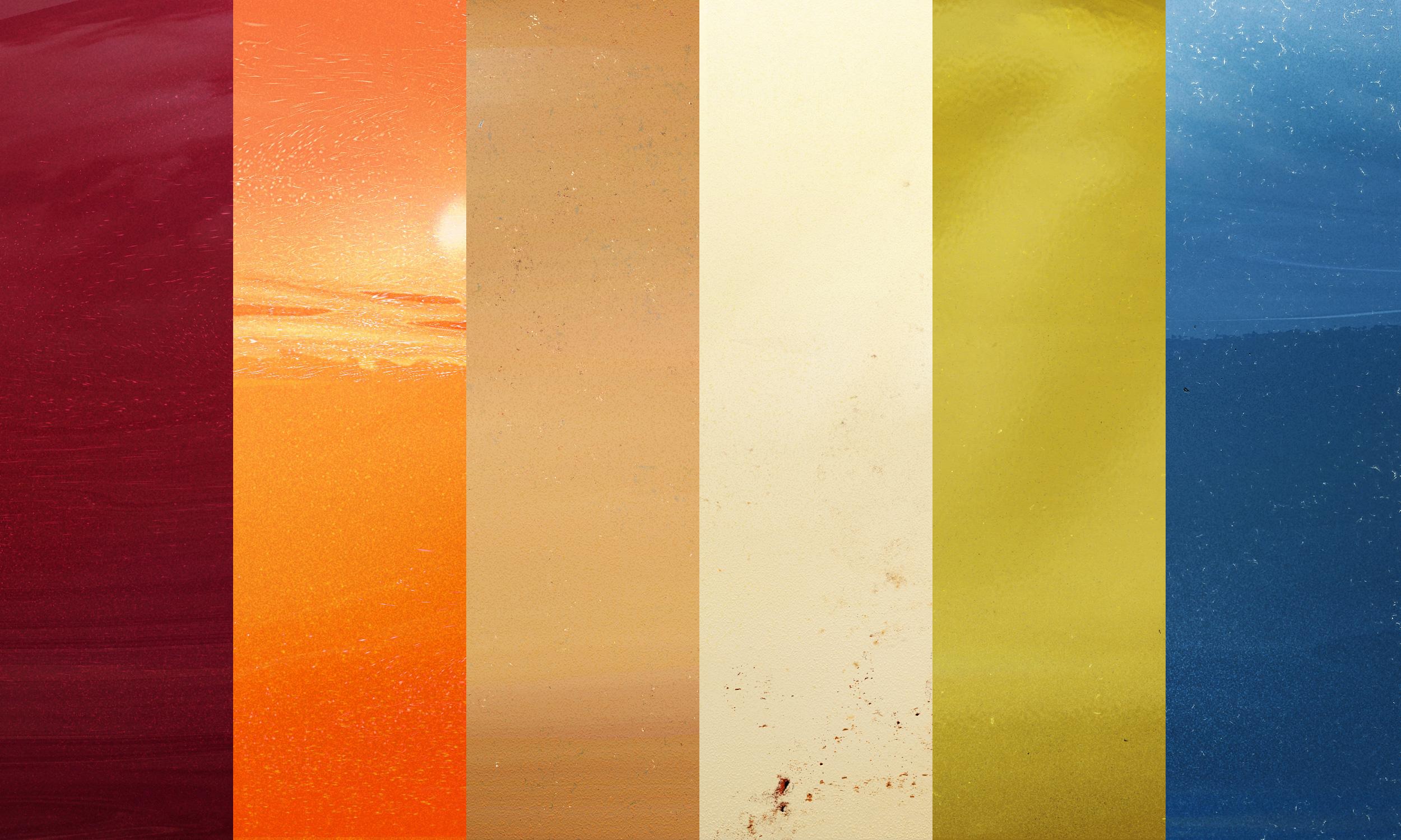 Car Paint Colors >> 6 Retro Car Paint Textures | GraphicBurger