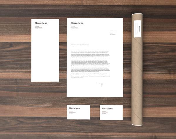 gmf stationery branding mockup free download