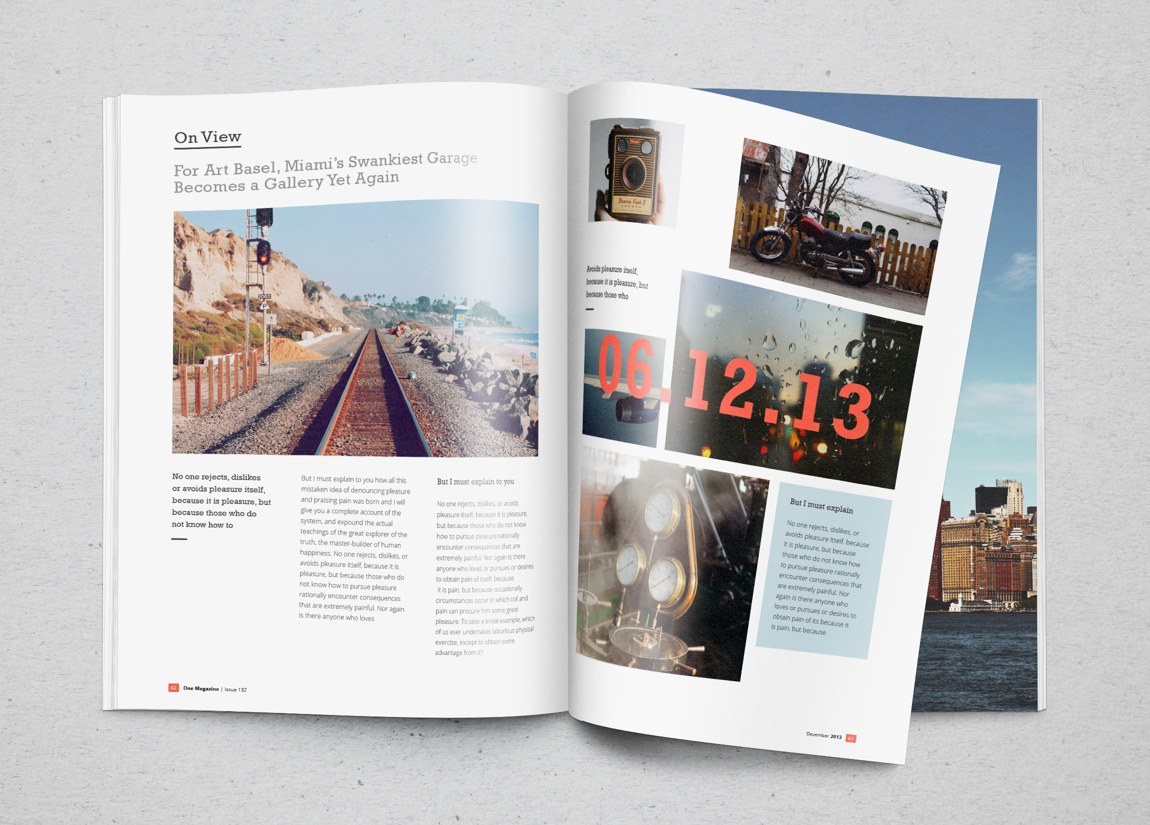 Photorealistic magazine mockup graphicburger for E magazine templates free download