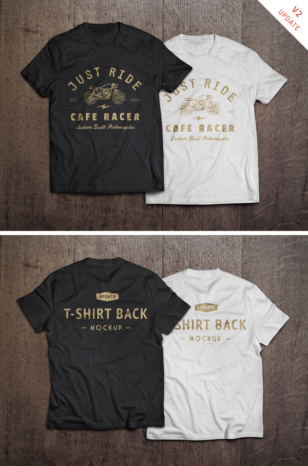 t shirt mockup psd graphicburger. Black Bedroom Furniture Sets. Home Design Ideas