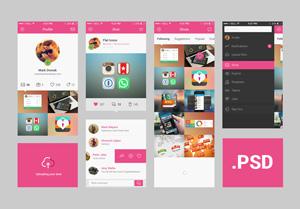 iOS7-App-Concept-PSD-300