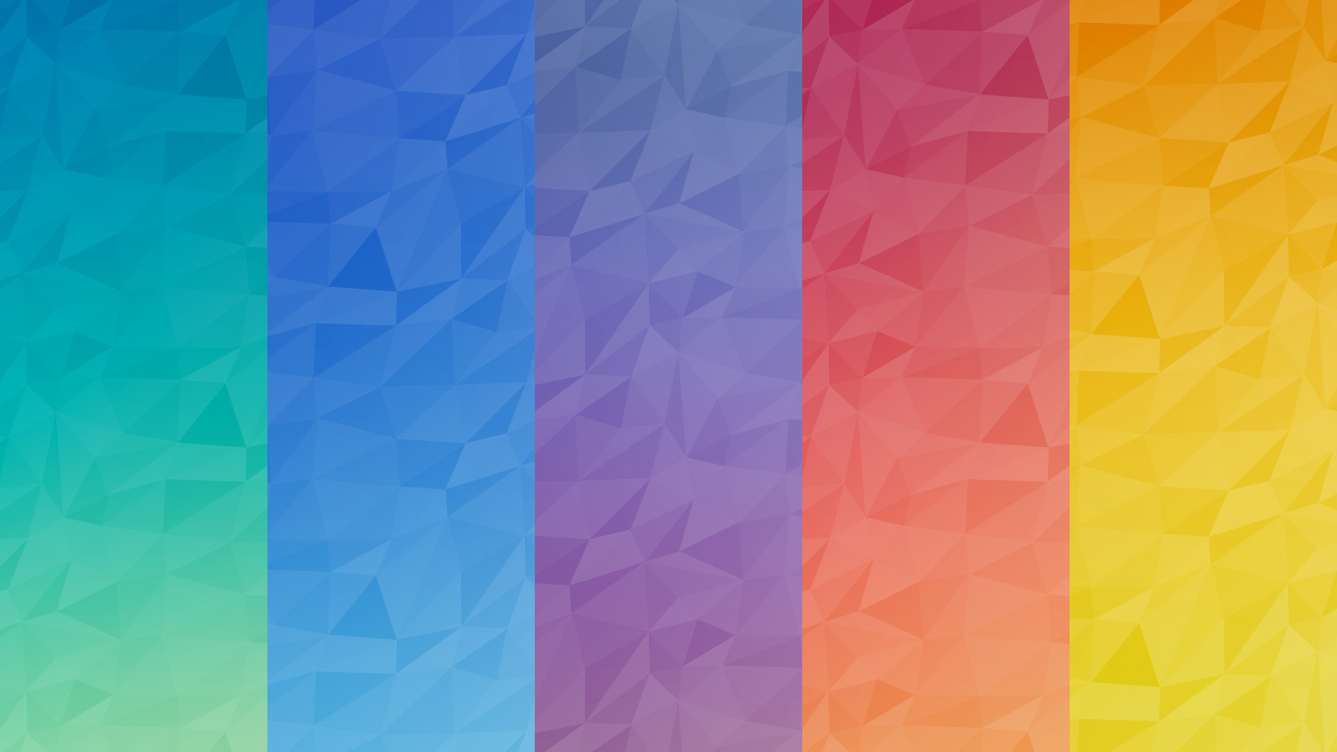 Seamless polygon background