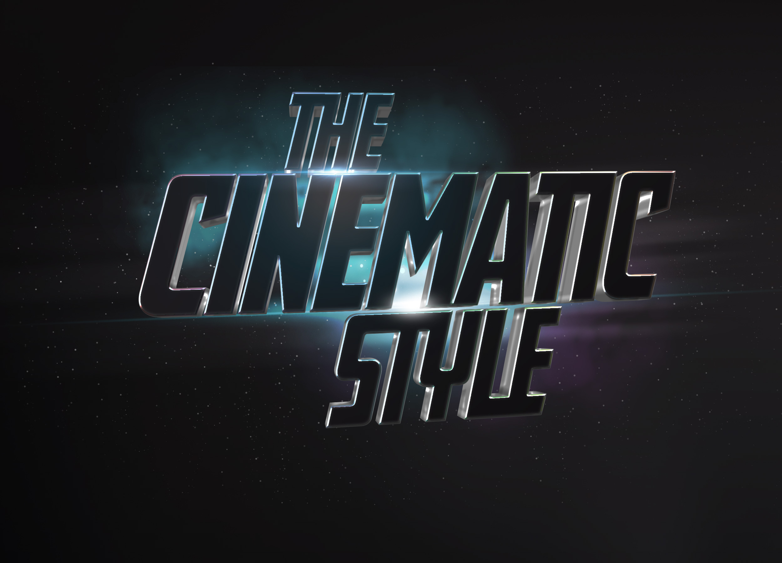 Cinematic 3d Text Effect Graphicburger