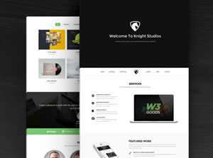 Knight-Free-Bootstrap-Theme-300