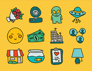 doodle-icons300