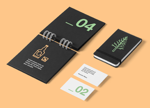 Corporate Stationery Mockup 300