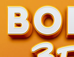 Bold-3D-Text-Effect-300