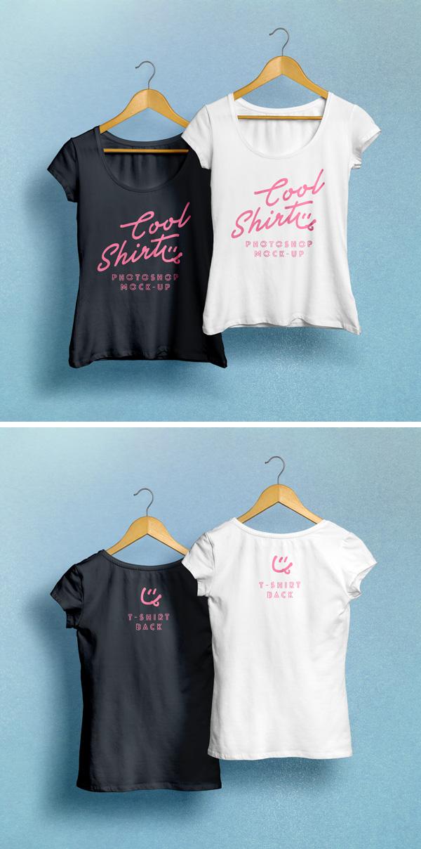 Woman T Shirt Mockup Psd Graphicburger