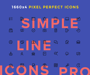 Simple Line Icons Pro – sponsored
