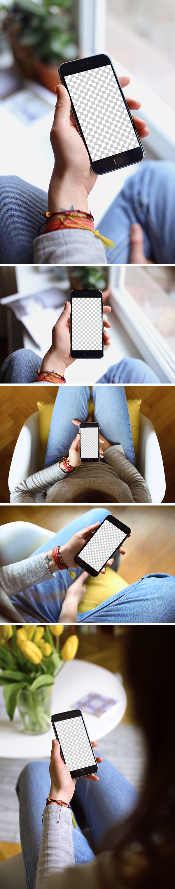 Download 5 PSD MockUps iPhone 6 trong bàn tay - Tạp Chí Designer Việt Nam
