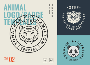 Animal-Logo-Badge-Templates-Vol2-300