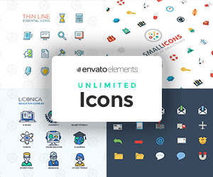 EnvatoElements Icons – Sponsored