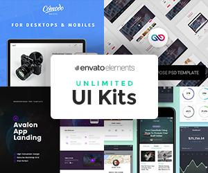 EnvatoElements UI Kits – sponsored