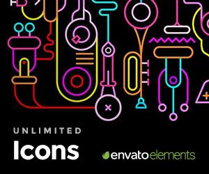 EnvatoElements Icons – Sponsored