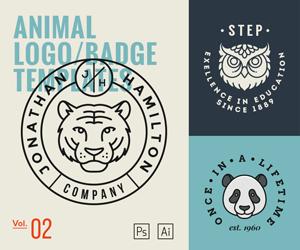 Animal Logo Templates Vol2 – sponsored