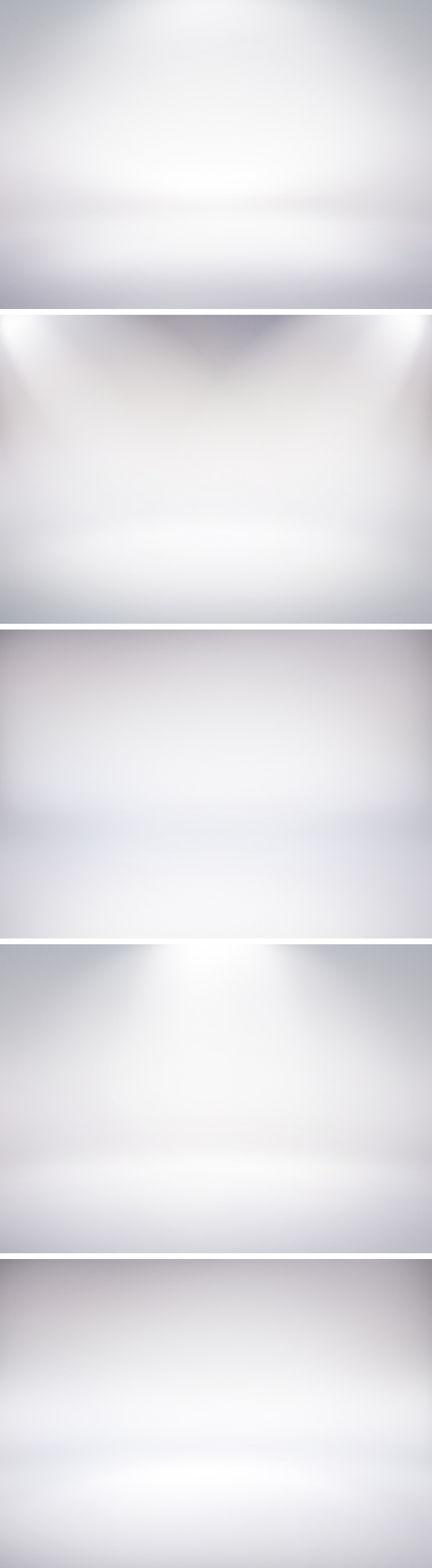 5 infinite white studio backdrops
