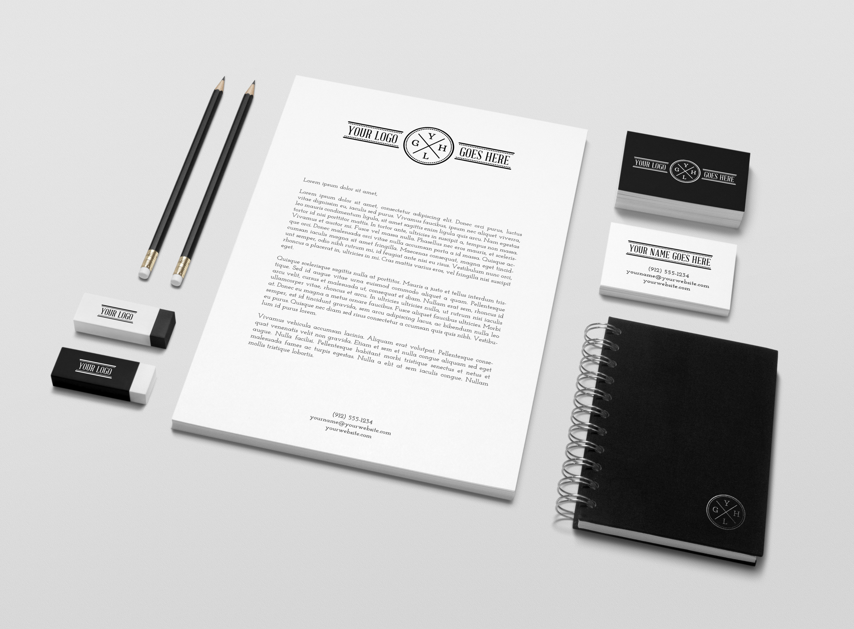 brand identity mockup free download