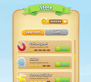 Mobile Game GUI | GraphicBurger