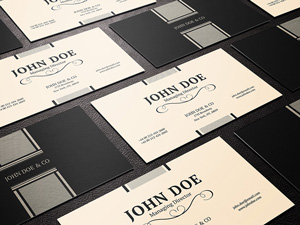 Business card graphicburger business card psd template 1 wajeb Gallery