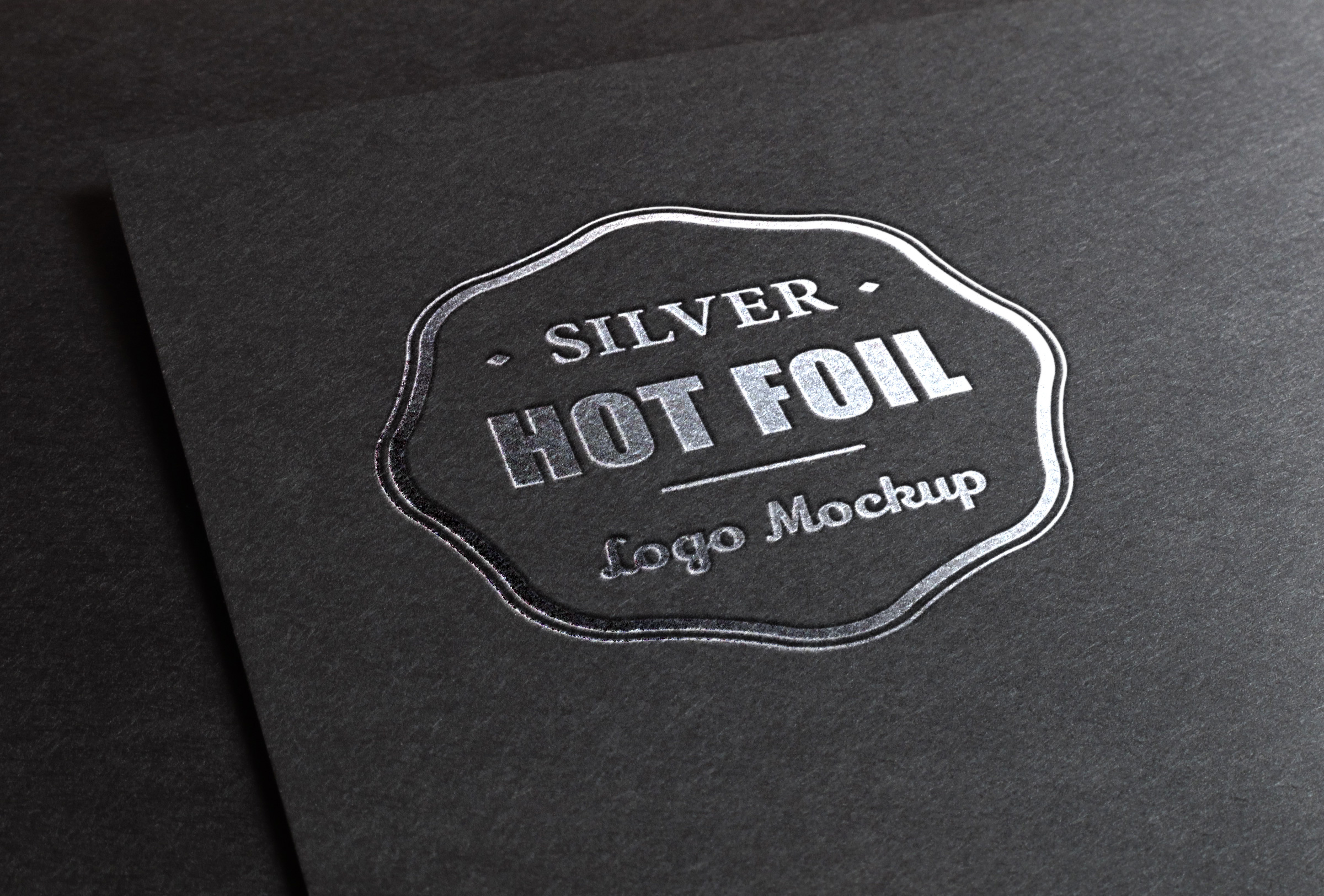Metal Logo Mock-Up Template | Psd Mock Up Templates | Pixeden
