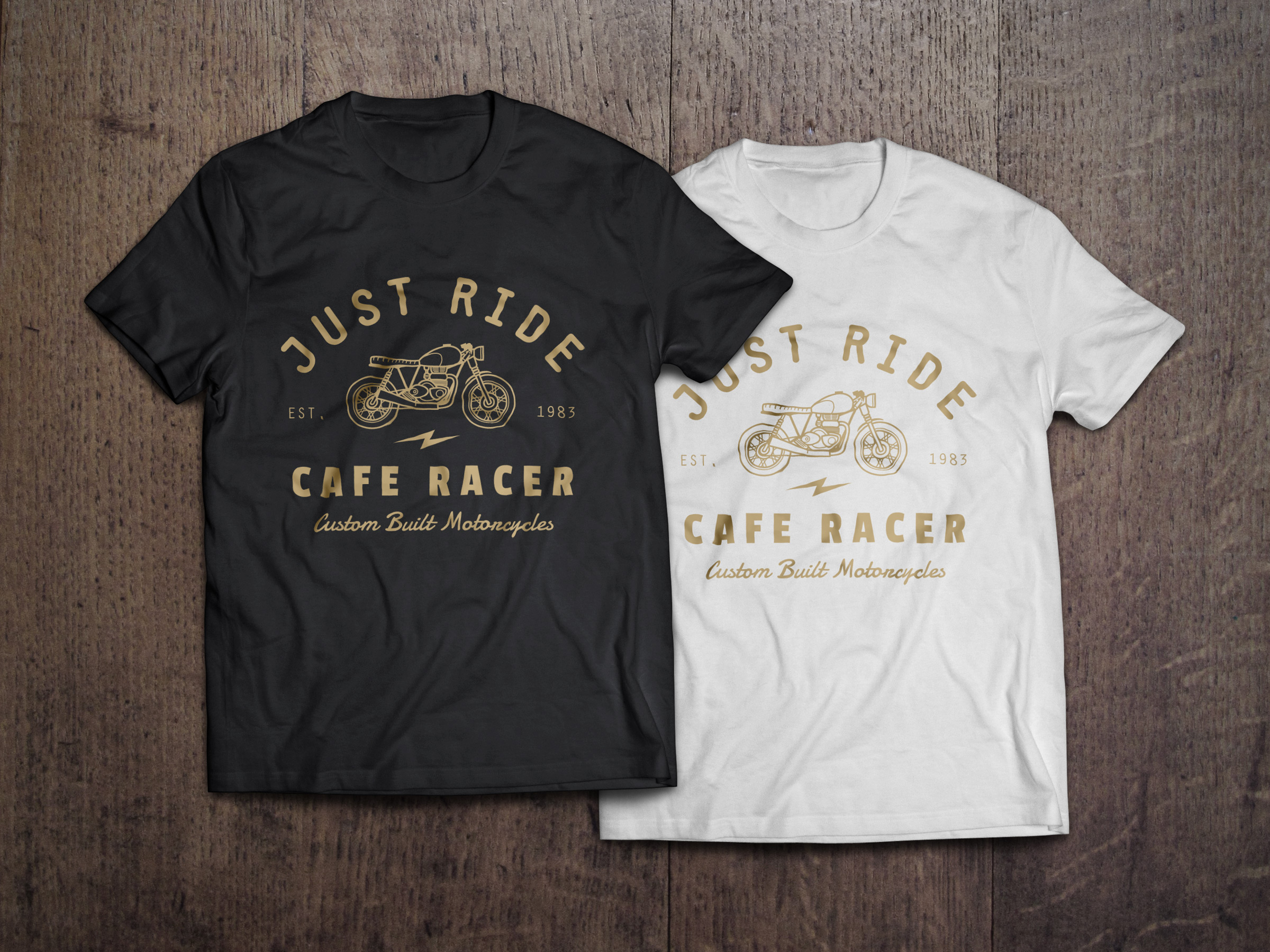 full preview - Free T Shirt Mockup Template