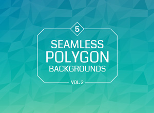 Seamless Polygon Backgrounds Vol 2 Graphicburger