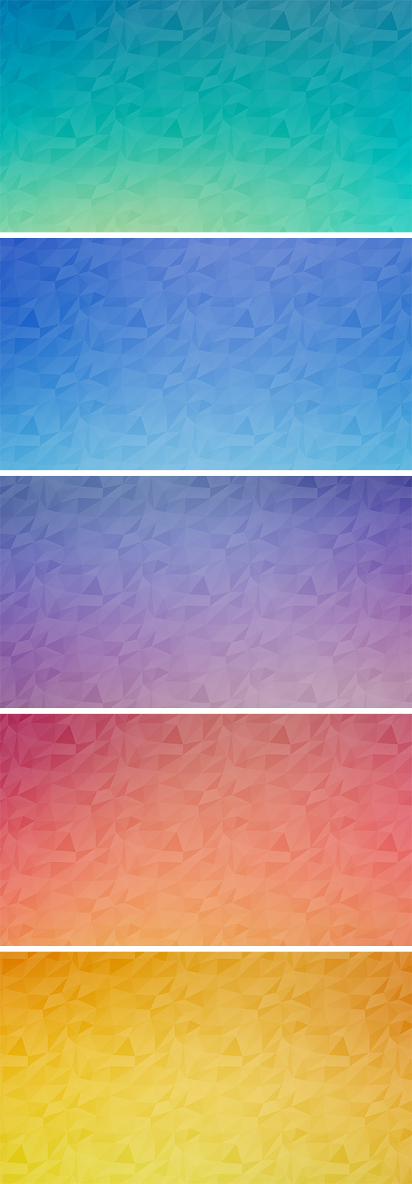 seamless polygon backgrounds vol 2
