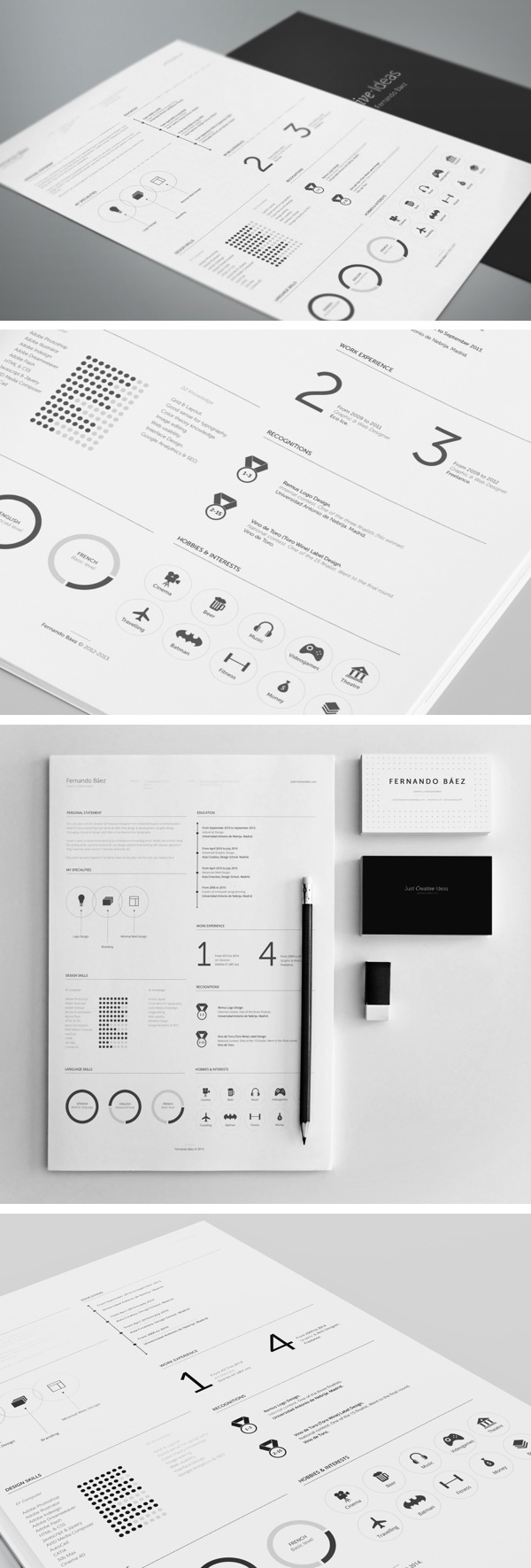 Professional Resume Template  Graphicburger
