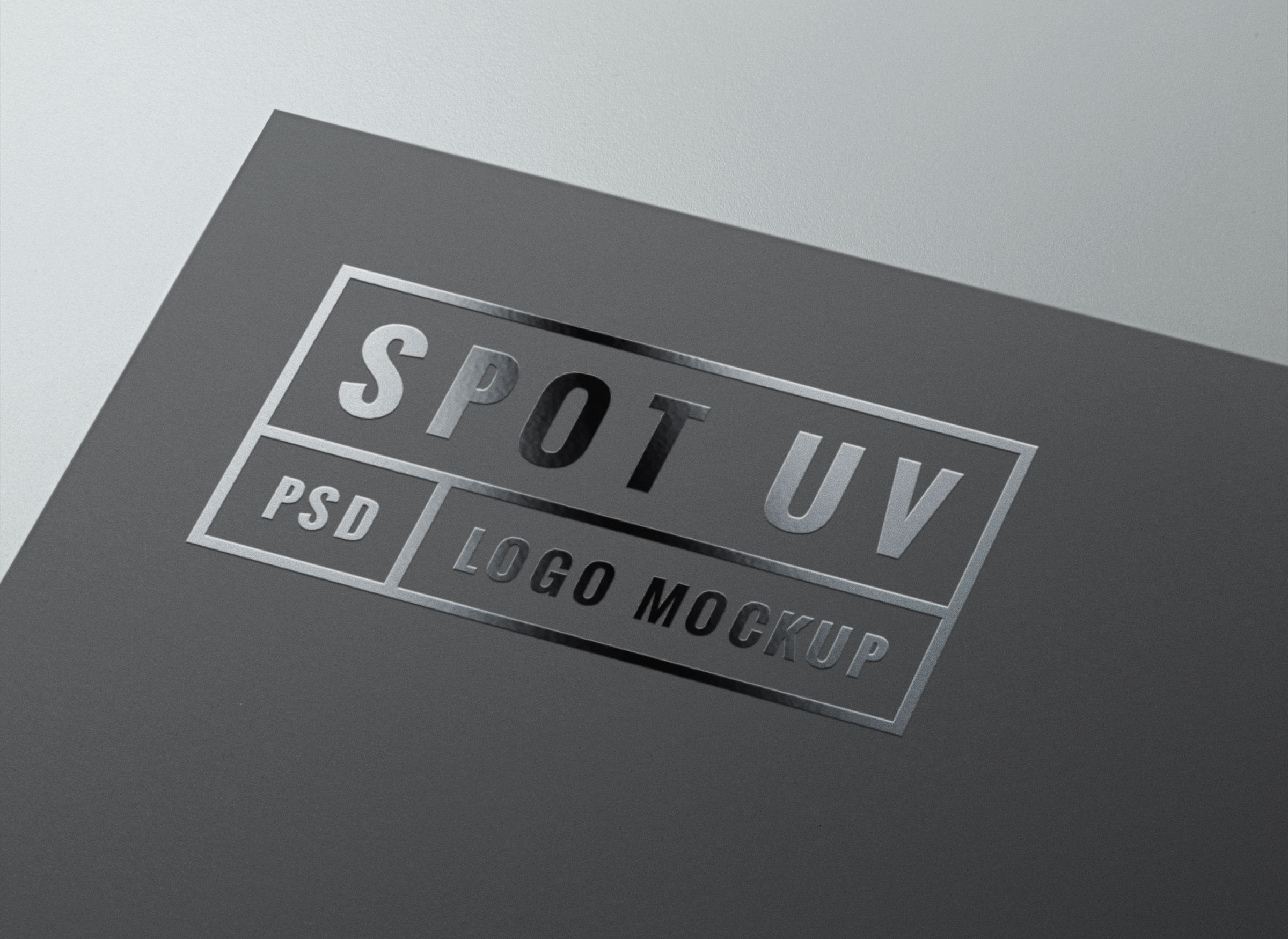 Spot uv logo mockup graphicburger full preview reheart Image collections