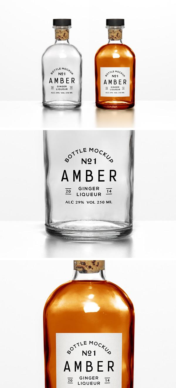 versatile bottle mockup
