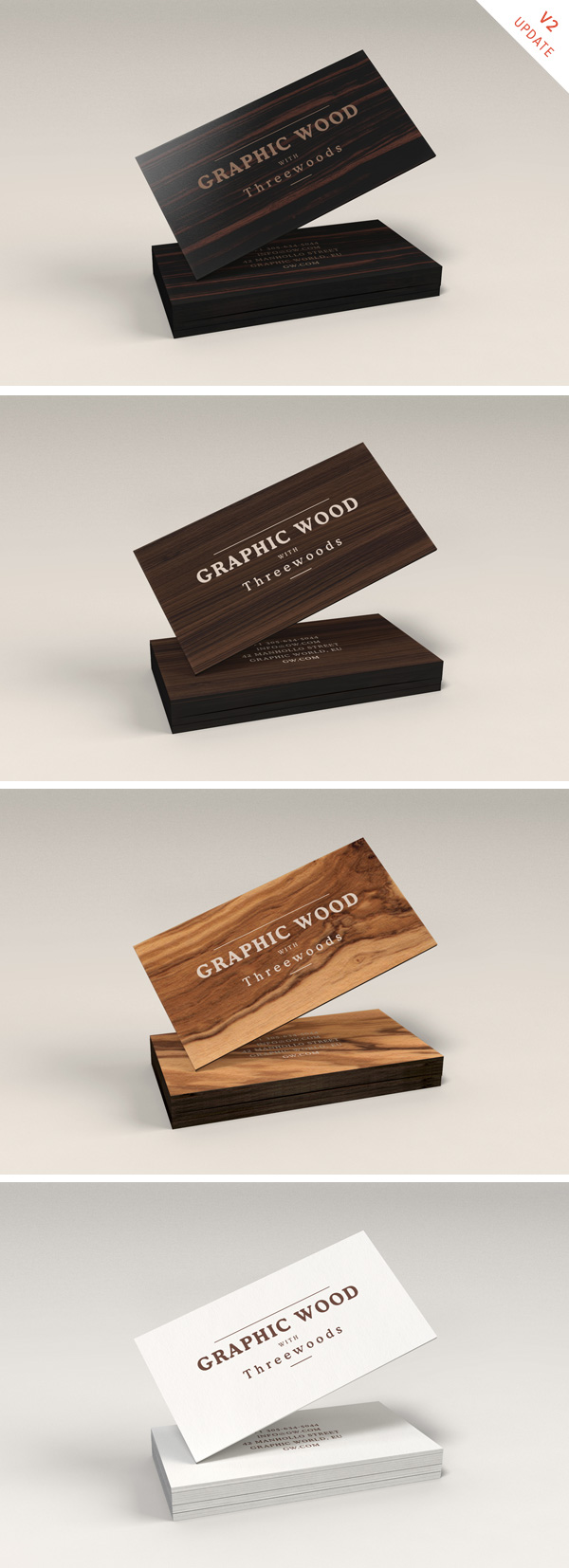Wooden business cards mockup graphicburger wooden business cards mockup reheart Image collections
