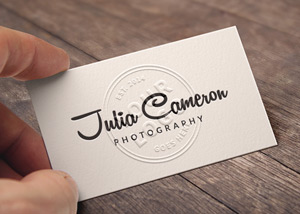 Embossed business card mockup graphicburger reheart Image collections
