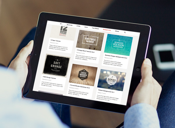 ipad | graphicburger, Powerpoint templates