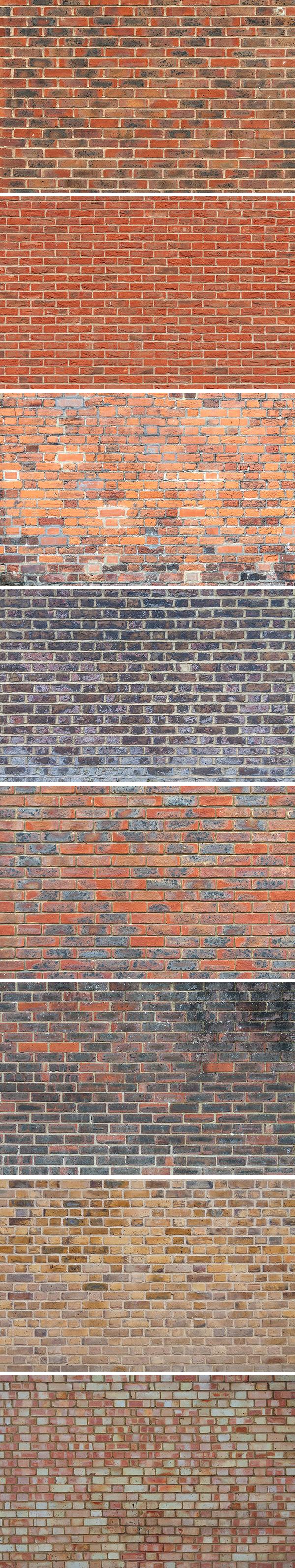Brick Wall Textures Vol