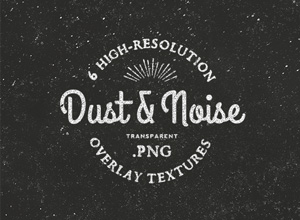 Dust & Noise Overlay Textures | GraphicBurger
