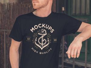 Men S T Shirt Mockup Graphicburger