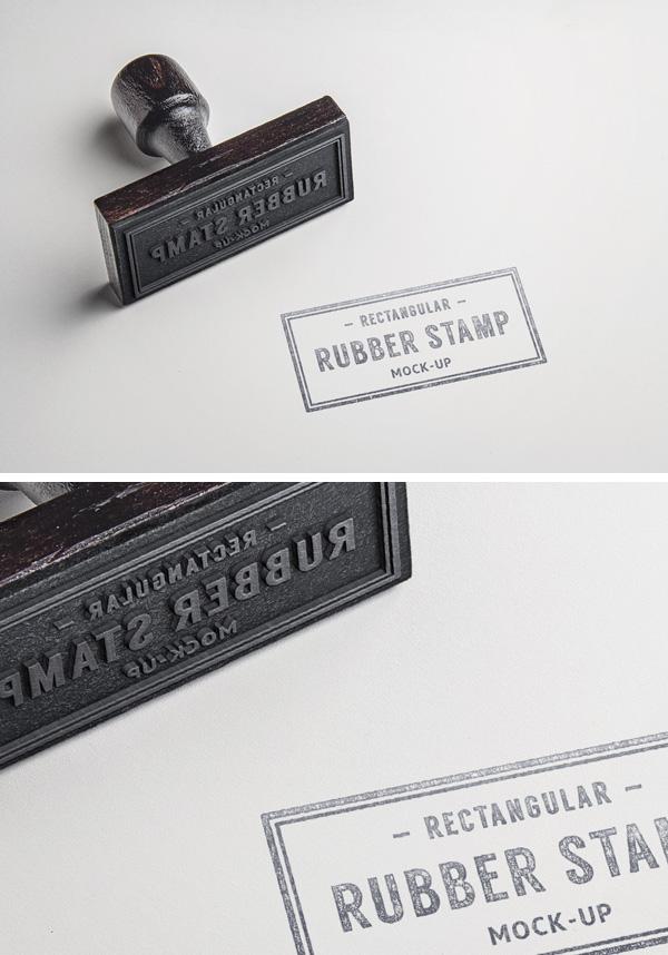 rubber stamp psd mockup  2