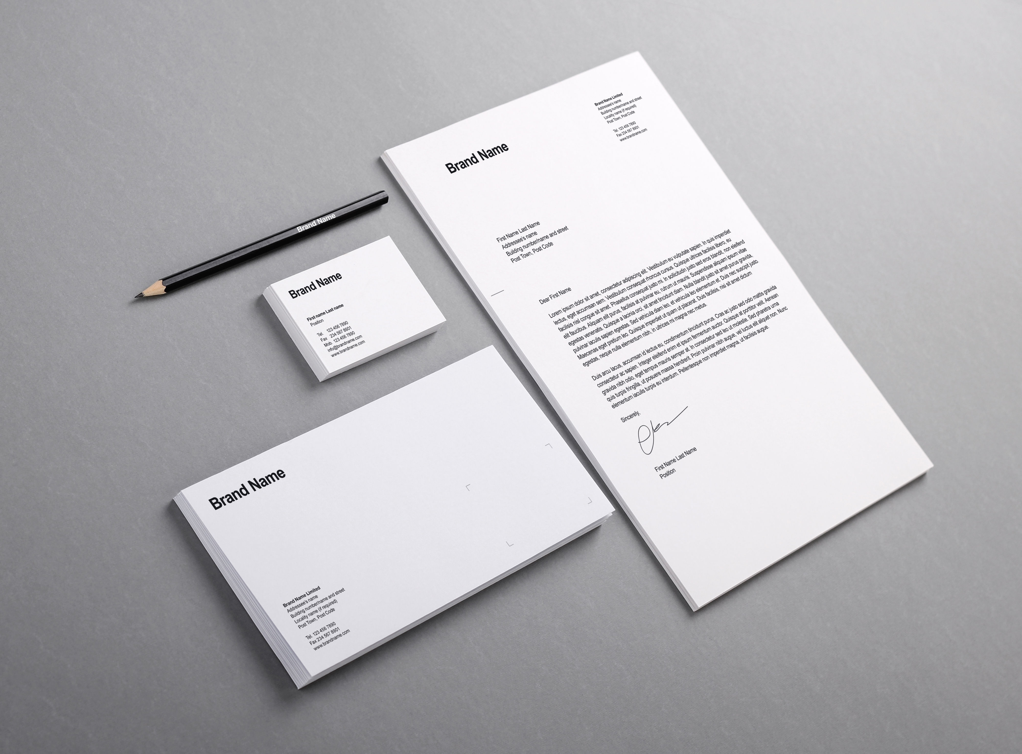 Branding identity mockup vol12 graphicburger full preview reheart Image collections