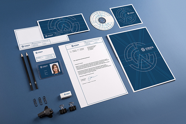 Corporate Identity Psd Mockup Graphicburger