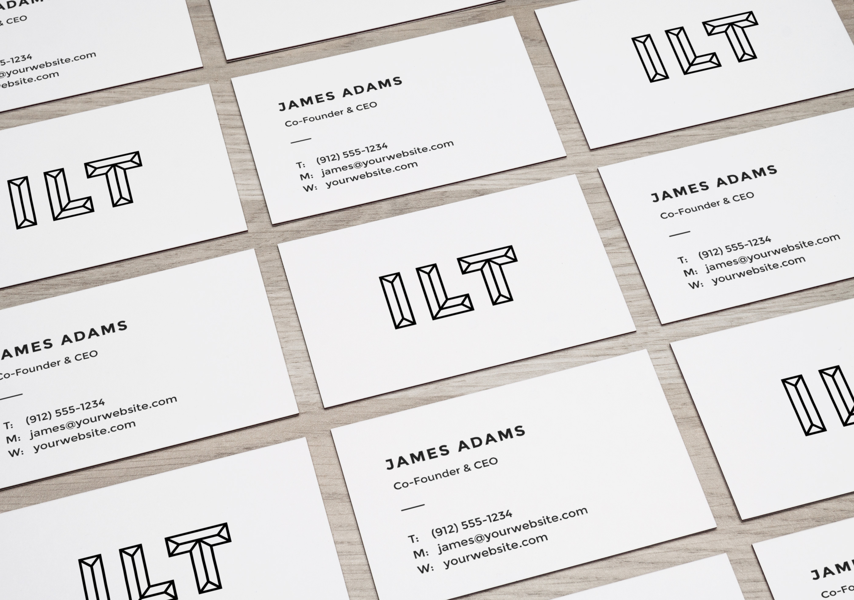 Perspective business cards mockup graphicburger perspective business cards mockup reheart