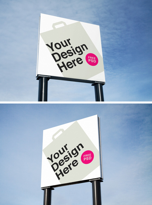 Outdoor Advertising Psd Mockups Graphicburger