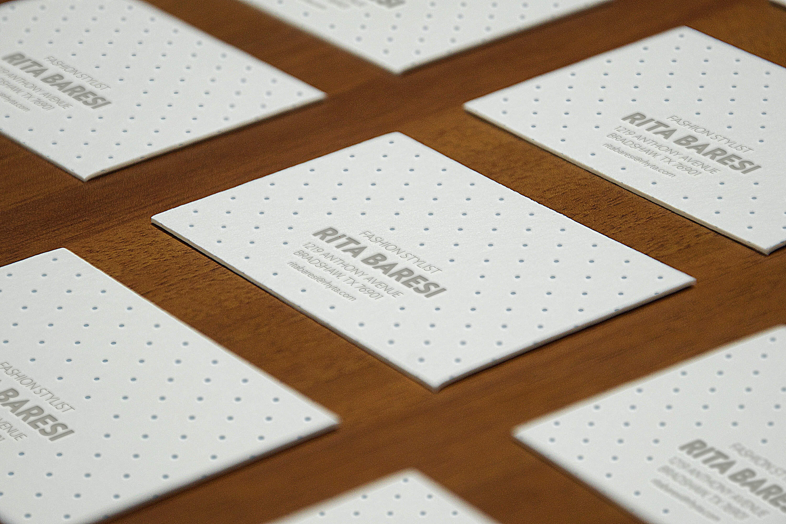 Business card graphicburger letterpress b cards perspective mockup cheaphphosting Image collections