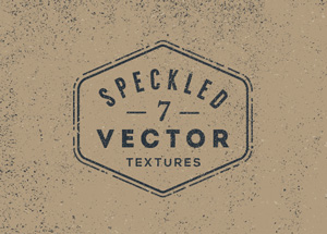 7 Speckled Vector Textures | GraphicBurger