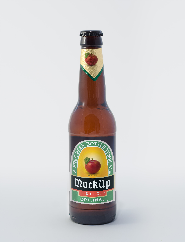 Beer Bottle Psd Mockup Graphicburger