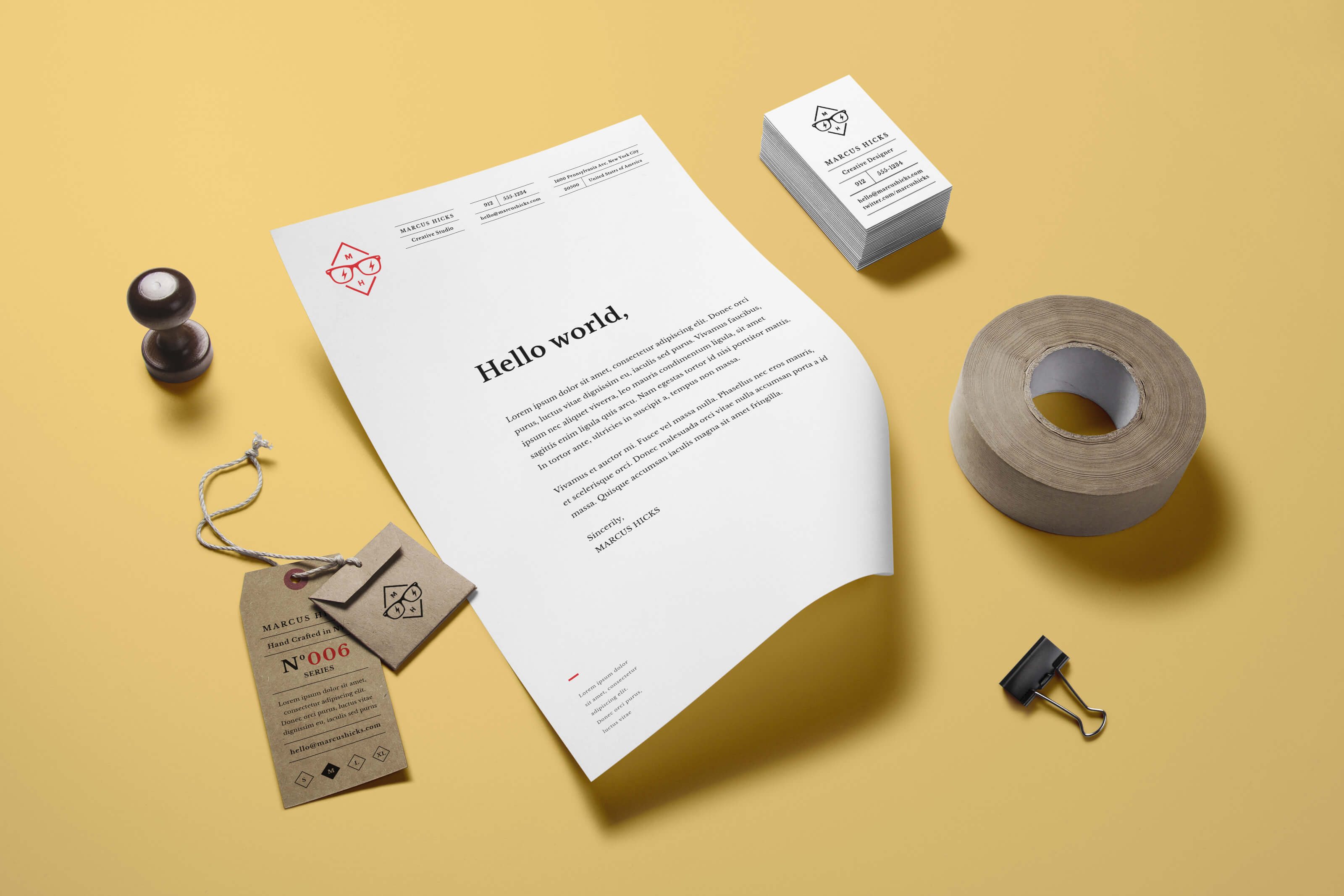 stationary | GraphicBurger