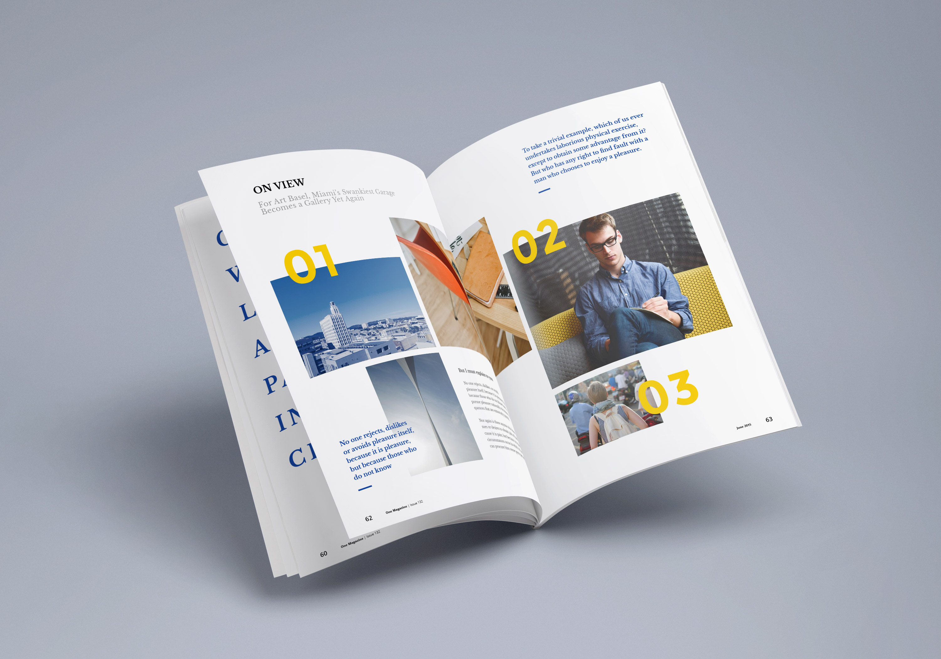 Photorealistic magazine mockup 3 graphicburger full preview pronofoot35fo Images