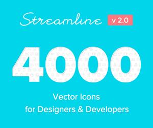 Sponsored – Streamline Icons