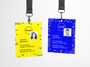 Id Card Psd Mockup Graphicburger