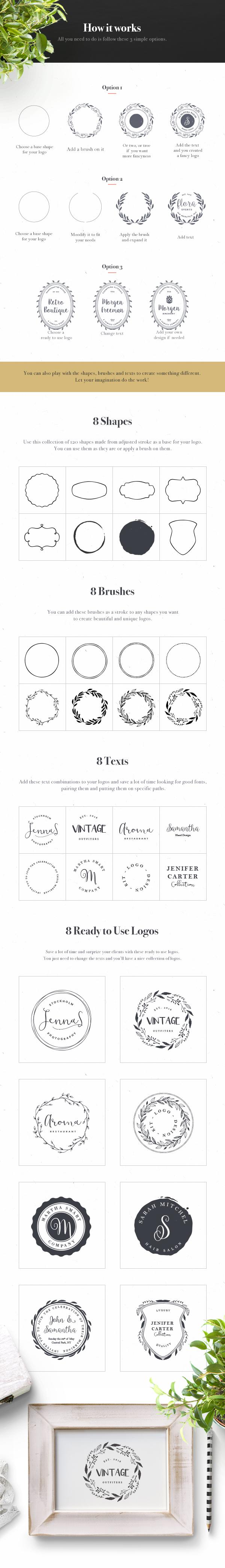 Logo Design Kit – Free Sample | GraphicBurger